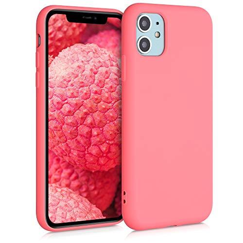 kwmobile Hülle kompatibel mit Apple iPhone 11 - Hülle Handy - Handyhülle in Neon Koralle