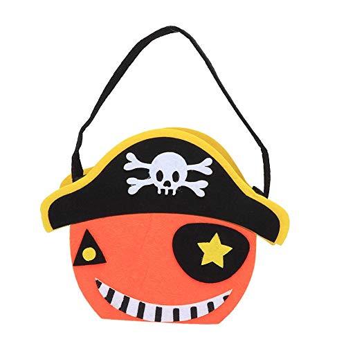 Cafopgrill Halloween snoepjes, cadeauzakjes, pompoenzakken, hekjes, stof, snoepgoed, snoep, partydecoratie, zacht, klein geschenk