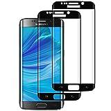 DOSMUNG Cristal Templado para Samsung Galaxy S7 Edge, [2 Pack] Vidrio Templado de Samsung S7 Edge, Cobertura Completa/Dureza 9H/3D Curvado/Anti Arañazos Protector de Pantalla para Galaxy S7 Edge