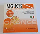 mg.k vis magnesio e potassio orange - 15 bst