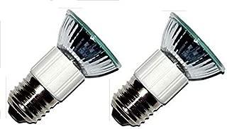 Pack of 2, LSE Lighting Z0B0011 50W JDR E27 75mm Range Hood Appliance Bulbs