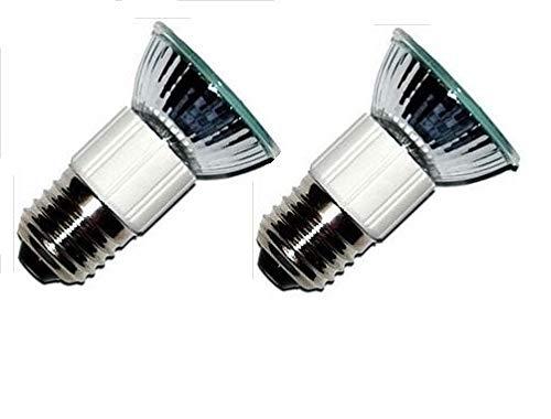 Pack of 2, E27 European Base 50W Kitchen Hoods GE WB08X10028 Appliance Bulbs