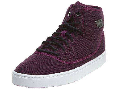 Nike Jordan Jasmine GG, Scarpe da Running Bambina, Rosso/Nero/Viola/Bianco/Mora Nera/Fucsia (Rojo Negro Morado Blanco Mulberry Black FCHS Glow Wht), 36 EU