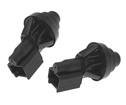 YINETTECH 2X Interrupteur Éclairage Intérieur Porte de Courtoisie Compatible pour Megane Scenic Kangoo Renault