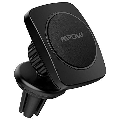 Mpow Universal KFZ Lüftungsschlitz Magnetische 360 Grad Halterung Halter in Auto für iPhone 6S/6 Plus/5S/5C, Galaxy Note 4/ 3, S6/ S6 Edge/ 5/ 4