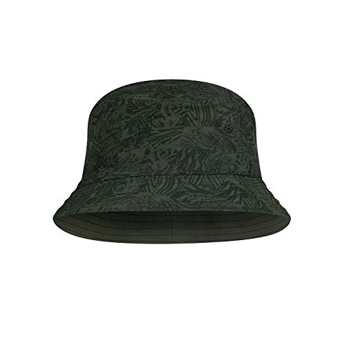 Buff Unisex Trek Bucket Hat Baskenmütze, grün, S/M