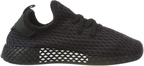 Adidas Deerupt Runner I, Zapatillas de Gimnasia Unisex niños, Negro (Core Black/Core Black/FTWR White Core Black/Core Black/FTWR White), 25.5 EU