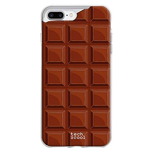 Carcasa Flexible Diseño Tableta de Chocolate
