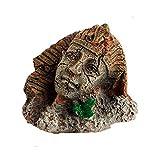Resina Artificial Antiguo Faraón Egipcio Esfinge Ruinas Pilar Roman Style Estatua Acuario Decoraciones del Acuario Ornamento