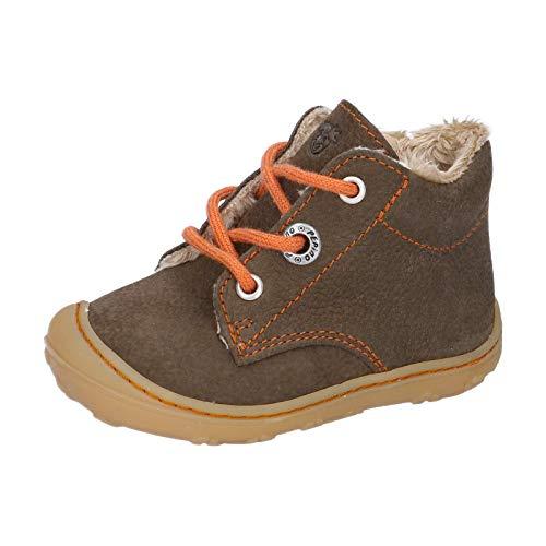 RICOSTA Unisex - Kinder Lauflern Schuhe CORANY von Pepino, Weite: Mittel (WMS),terracare, junior Kleinkinder Kinder-Schuhe,Army,24 EU / 7 Child UK
