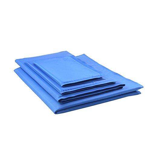 Zomer hond koelmat zelfkoelende gel mat niet meer over verwarming huisdier koel bed voor honden katten - perfect voor vloeren, liggen, bedden, kisten, zwinger of auto's (maat: L)