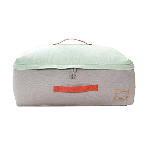 Storage bag Almacenamiento Cuadro de Lona Bolsa de Almacenamiento Edredón Bolsa de Almacenamiento Bolsa Hermoso (Color : B)