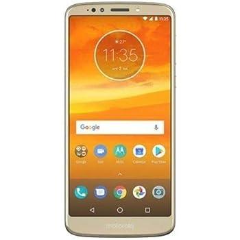 "Moto E Plus (5th Generation) 6.0"" Max Vision, Monster 5000mAh Battery, Dual Sim GSM Unlocked International Model, No Warranty XT1924-4 (Gold)"