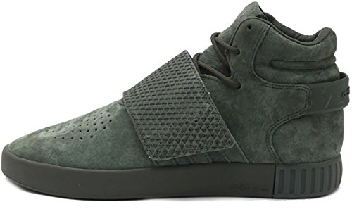 adidas Originals Tubular Invader Strap Mens Hi Top Trainers Sneakers Shoes (UK 10.5 US 11 EU 45 1/3,...