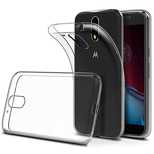 LuluMain Soft TPU Transparent Fit Protector Case for Motorola Moto G4 Play, Anti Slip, Scratch Resistant
