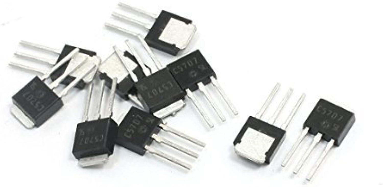 C5707 TO-251 80V 8A 3-Pin NPN-Leistungstransistor NPN-Leistungstransistor Ersatzteile 10Pcs  bis zu 70% sparen
