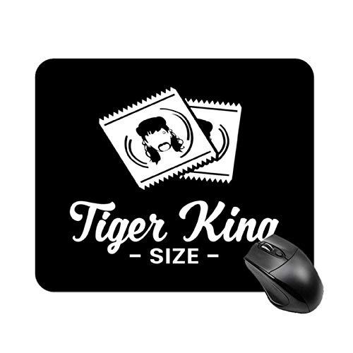 Tiger King Size Joe Exotische Kondome Hochgeschwindigkeits-rutschfeste Spieltischmatte, Office Square Rubber Base-Mauspad, kundenspezifische kleine Schreibtischmatte