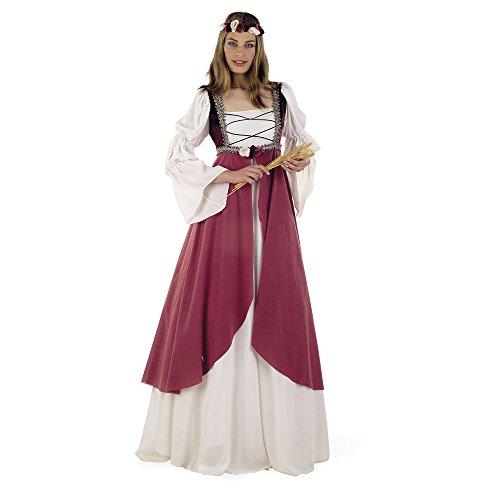 Limit Sport Rosa Mittelalter-Kostüm für Damen - XL