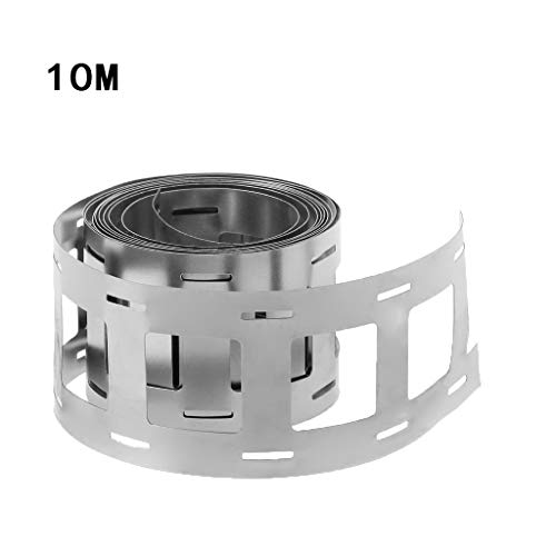 Sweo 10M Lithium Battery Nickel Strip Plate Belt Tape For 18650 Battery Storage Holder Cell Case