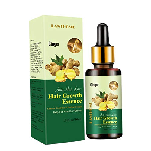 harayaa Growth Serum Ginger Essential Oil Repairs Hair Follicles for And Women