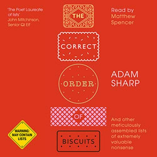 The Correct Order of Biscuits cover art