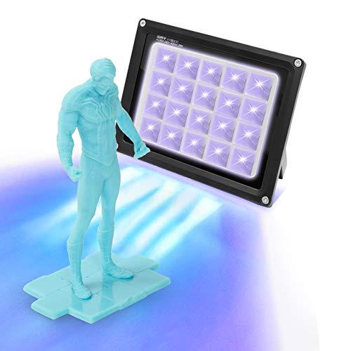 Sovol Resina UV Curare Luce 405nm 20W Polimerizzazione Lampada per Resina Stampante 3D Stampa Modelli Curare