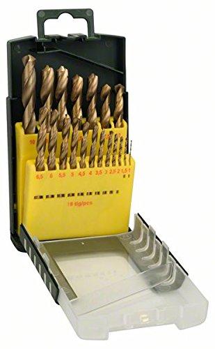 Bosch 2607017152 Metalen boorset HSS-TiN 19-delig