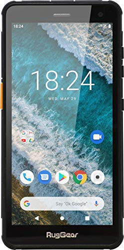 Neues RugGear RG655 Outdoor-Handy - Wasserdicht, Staubdicht, Stoßfest, 5.5'' Corning-Glass Bildschirm, Android 9 Pie OS, NFC, Dual-SIM