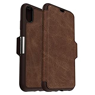 OtterBox for Apple iPhone Xs Max, Premium Leather Protective Folio Case, Strada Series, Brown (B00Z7RWQBW) | Amazon price tracker / tracking, Amazon price history charts, Amazon price watches, Amazon price drop alerts