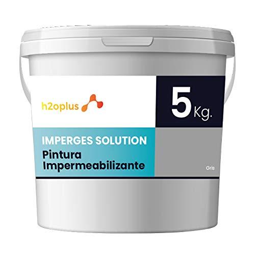 Imperges Peinture d'étanchéité Imperméabilisante pour Terrasse Circulable, Balcon et Sols Extérieurs Gris Profesional · 5 kg (4,15 L)