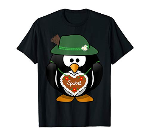 Spatzl Pinguin aus Bayern mit Trachtenhut T-Shirt