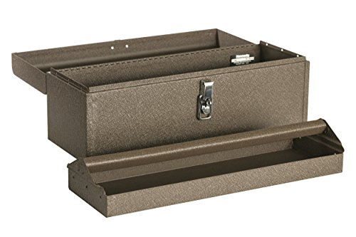 Kennedy Manufacturing 5220B 20' Hand-Carry Tool Box with Tote Tray, Tan Brown Wrinkle