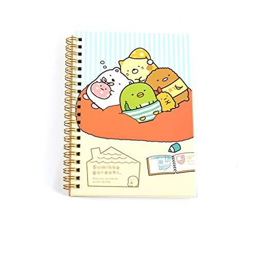 CAIM-dagboeken, creatieve tas met verdeler, notitieboek, fotoalbum, reizen, aquarel, leeg, getekend spiraalcoil, notebook