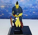 WIJJZY Feliz y lluvioso Cosplay Deadpool Batman Darth Vader Naruto Kakashi PVC Figura de acción Colección Muñeca Modelo Cumpleaños Regalo Estatua Colección decoración