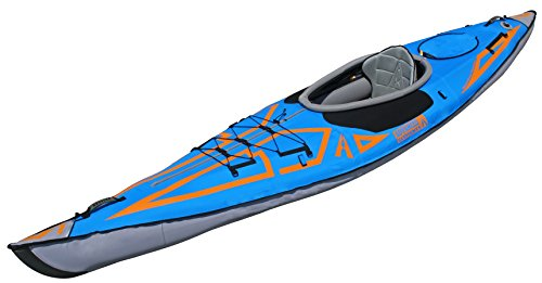 ADVANCED ELEMENTS Unisex Expedition Elite aufblasbares Kajak, blau, 400 cm