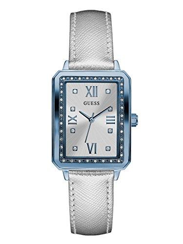 Guess Damen Analog Quarz Uhr mit Leder Armband W0841L3