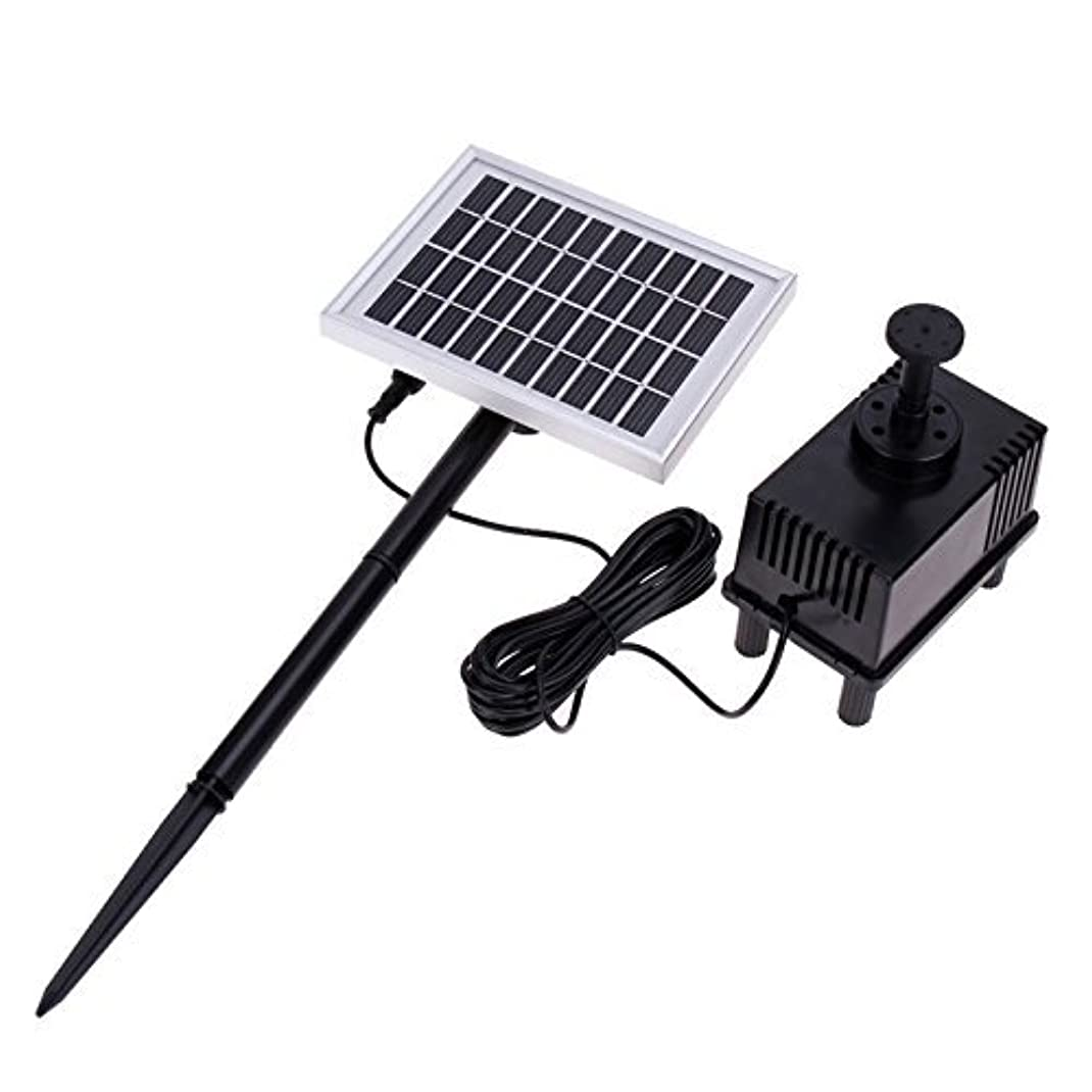 気取らない一緒拡散する太陽光を仕様するから電気代がかからないうえに省エネ!ソーラーファン池ポンプ◇FS-SP002-S