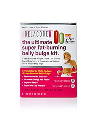 Relacore Ultimate Super Fat Burning Belly Bulge Kit - Diet Pills - Fat Burners for Women and Men - Fat Burner - Fat Burn Supplement - Stress Relief - Cortisol Supplements for Women and Men - 105 Ct.