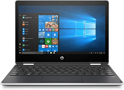 HP - Pavilion x360 2-in-1 11.6' Touch-Screen Laptop - Intel Pentium - 4GB Memory - 128GB Solid State Drive - Ash Silver Keyboard Frame, Natural Silver