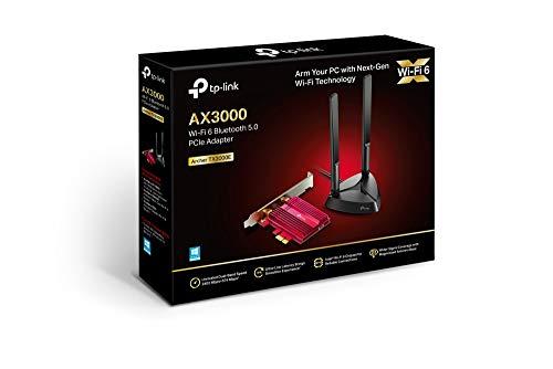 TP-Link Archer TX3000E - Scheda Wi-Fi PCI Express Wi-Fi 6 (AX3000) con Bluetooth 5.0