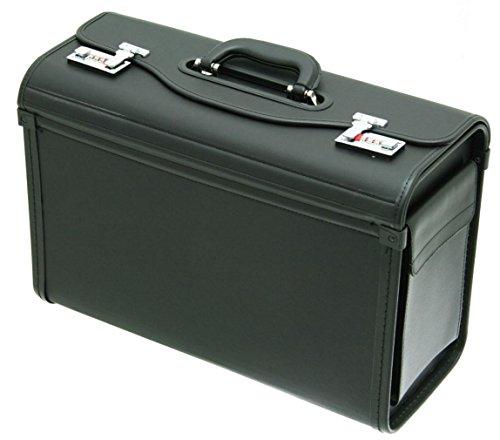 Beibye - Maletín para documentos (49 x 34 x 21 cm), color negro