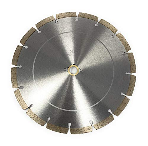 10-inch Dry or Wet Segmented Saw Blade with 5/8-inch Arbor for Concrete/Brick