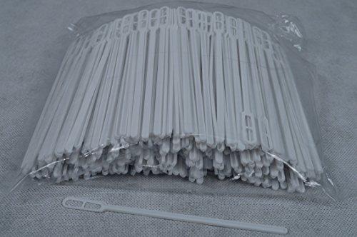 5000 Stück Rührstäbchen Kunststoff Weiss ca. 14cm (140mm) für Kaffee, Kakao, Coffee to go, Tee, am Bistro, Markstand usw..