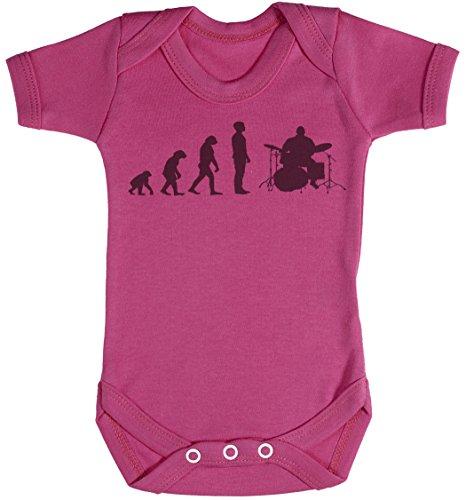 Baby Buddha Evolution to A Drummer Body bébé - Gilet bébé - Naissance Rose