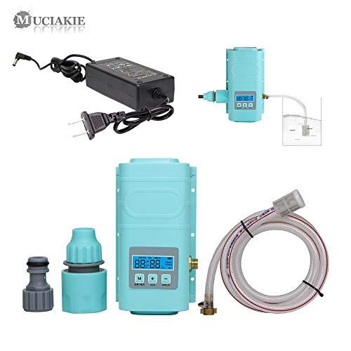 N\A Schlauch Sprinkler Wasser Timer 1PC 110V-240V Neue automatische Bewässerungspumpe w/Timer-Steuerung for Tropfbewässerungssystem Wasser Absaugpumpe w / 12V 4A Stromversorgung (Color : Blue)