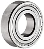 SKF 6004-2Z/C2ELHT23 Deep Groove Ball Bearing, Double Shielded, Standard Cage, C2 Clearance, 20mm Bore , 42mm OD, 12mm Width
