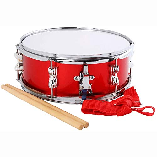 Find Bargain Big Shark Snare Drum Professional Snare Drum with Drumstick Drum Drum Sticks Strap for ...
