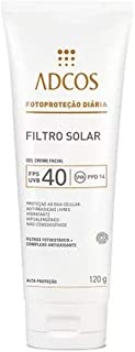 Adcos Filtro Solar Hidratante FPS40 Gel Creme 120g