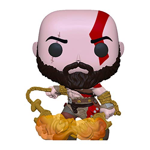 Funko Pop! God of War Kratos with The Blades of Chaos Exclusive Figure 154 GITD Glow in The Dark