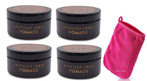 Crew Pomade 3 Ounce Pack Of 4 And Harpeth Trading Makeup Remover
